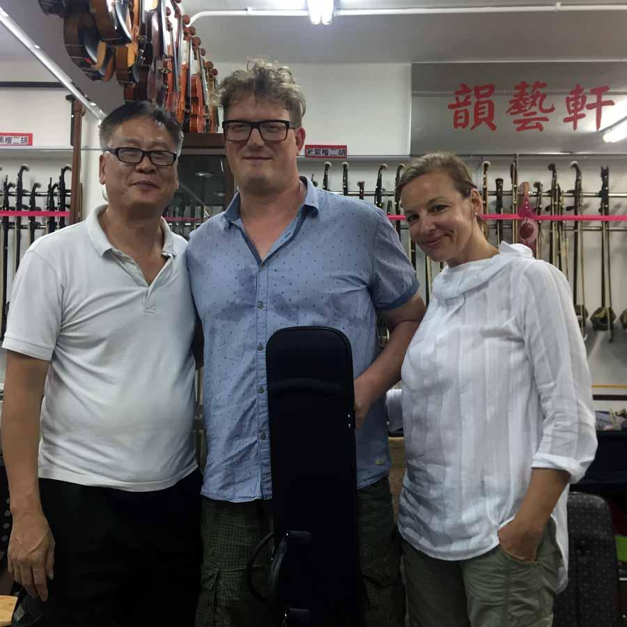 外國人也喜歡中國樂器