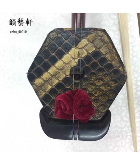 老紫檀大龍頭二胡 (00010)